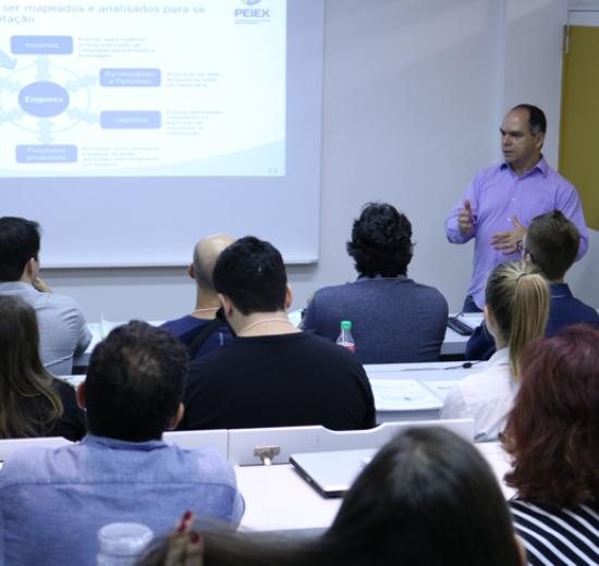 Peiex promove workshops em Balneário Camboriú