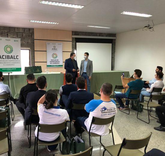 Prefeitura e Acibalc promovem encontro com empreendedores de Camboriú