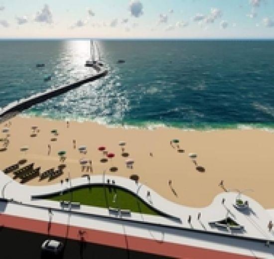 Prefeitura de Balneário lançará licitação do Molhe do Pontal Norte