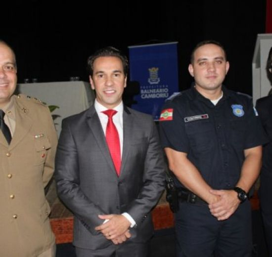 Presidente da Acibalc participa de evento de posse do novo Secretário de Segurança de Balneário