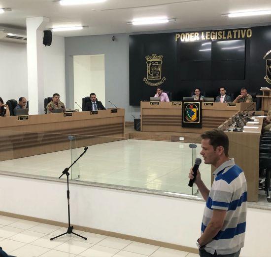 Presidente da Acibalc participa de Audiência Pública para debater segurança em Camboriú