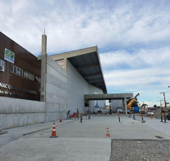 Presidente do COMTUR visita Aeroporto de Navegantes: obras estão adiantadas
