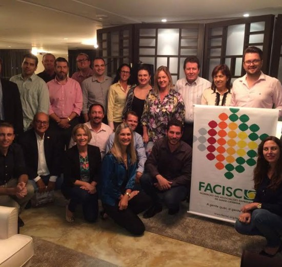 Presidentes das Associações Empresarias do Vale do Itajaí discutem BR 470