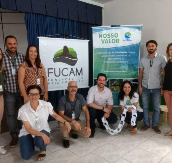 Professores da rede pública de Camboriú participam de capacitação sobre gestão da água