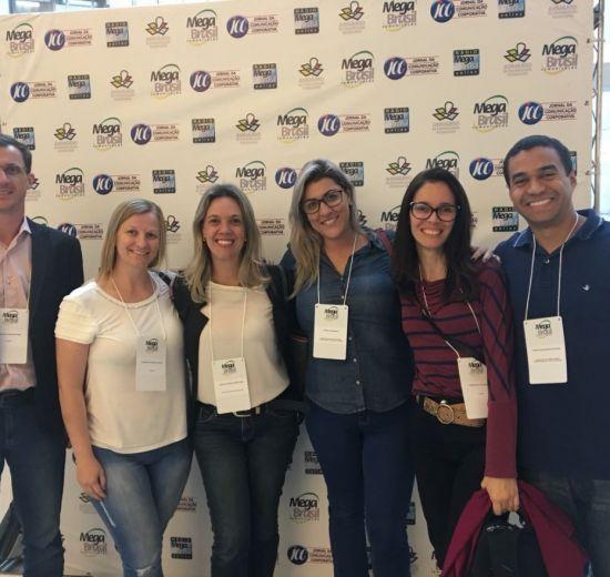 Profissionais do Sistema Facisc conhecem inovações da Comunicação em Congresso da área