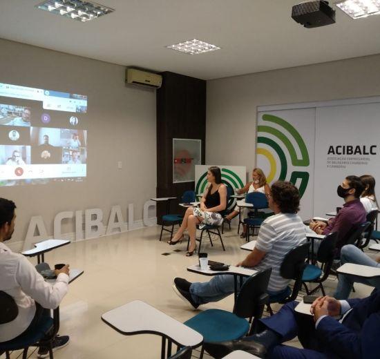 Projetos para Balneário Camboriú são tema de reunião plenária da Acibalc