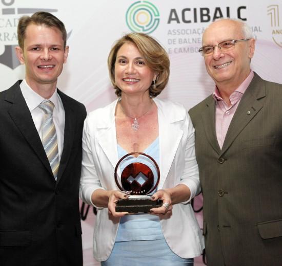 Representantes da Facisc são destaque em Prêmio concedido pela Acibalc