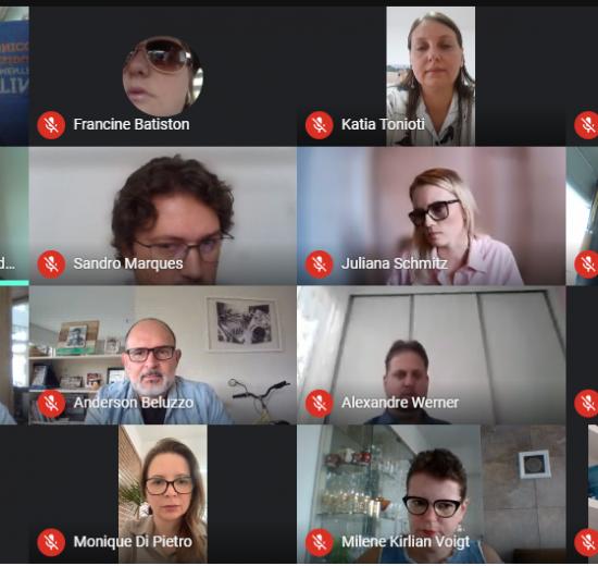 Reunião integrada reúne diretores e coordenadores de Núcleos da Acibalc