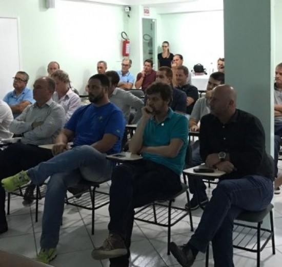 Reunião Regional do Vale: Acibalc presente em Plenária Facisc em Navegantes