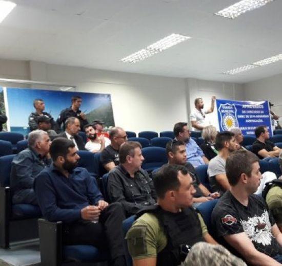 Segurança Pública de Balneário é discutida durante Audiência na Câmara