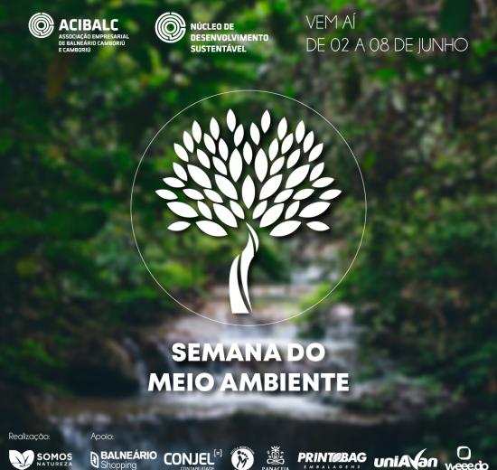 Semana do Meio Ambiente terá atividades em Balneário Camboriú e Camboriú na próxima semana