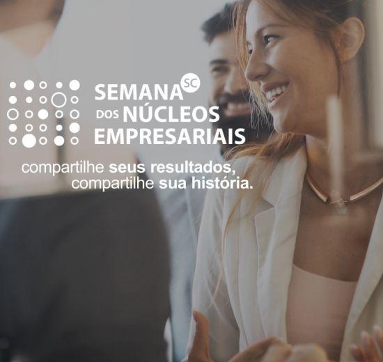 Semana dos núcleos contará com palestras, talk show e workshop em Balneário Camboriú