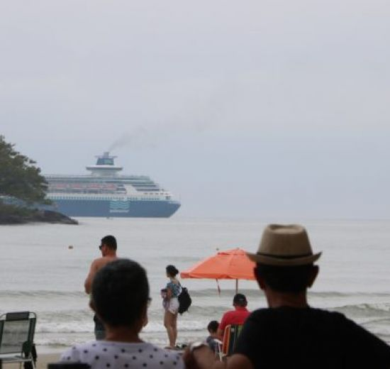 Sexta escala de transatlânticos da temporada chega a Balneário