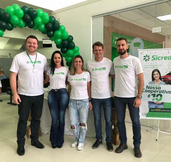 Sicredi comemora 10 anos de serviços no Litoral