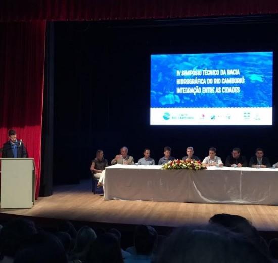 Simpósio técnico da Bacia do Rio Camboriú acontece em Balneário Camboriú