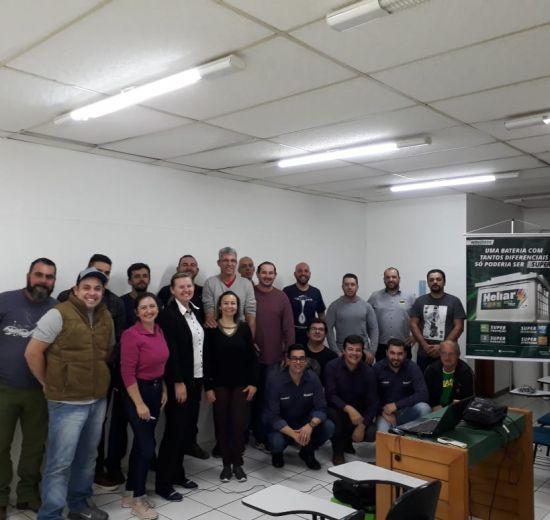 Tecnologia e Inovação são temas de treinamento do Núcleo Automotivo da Acibalc