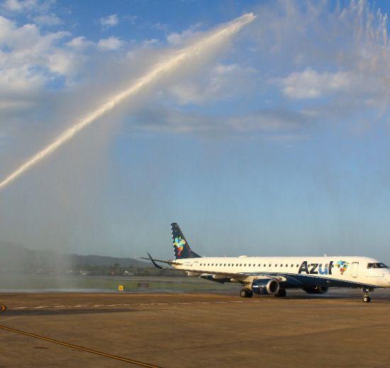 Trade turístico comemora a retomada dos voos internacionais no Aeroporto de Navegantes