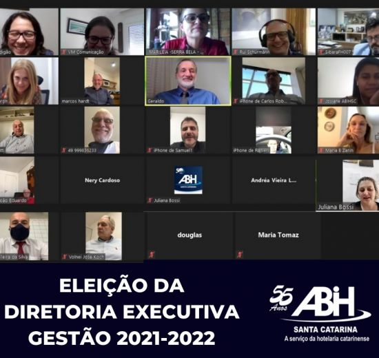 Vice-presidente de Turismo da Acibalc é eleito um dos diretores da ABIH/SC gestão 2021-2022