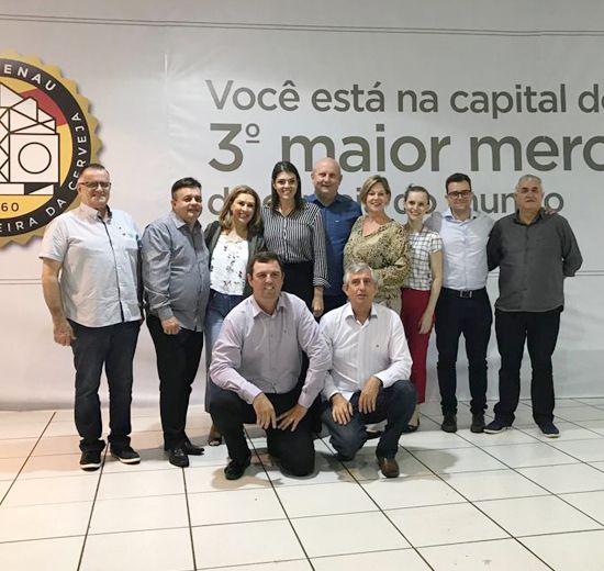 Vice-presidente de Turismo da Acibalc Faz Visita Técnica em Blumenau