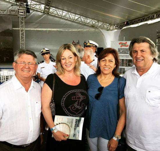VP de Turismo da Facisc participa de abertura da temporada naútica catarinense