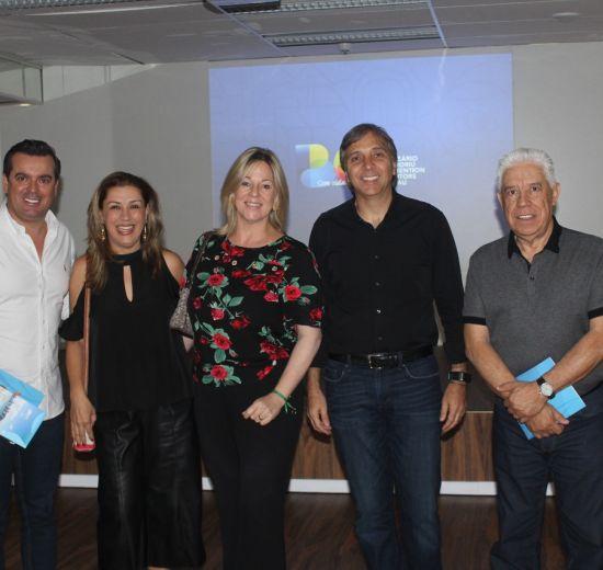 VP de Turismo da Facisc participa do lançamento da nova marca do Convention de Balneário